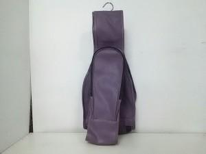 トラサルディー TRUSSARDI バッグ パープル 型押し加工/ゴルフバック PVC(塩化ビニール)【中古】