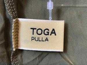 トーガプルラ TOGA PULLA ワンピース サイズ1 S レディース ライトブラウン×カーキ TOGA ARCHIVES/ベアトップ【中古】