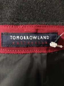 トゥモローランド TOMORROWLAND スカート レディース 美品 ダークグレー collection【中古】