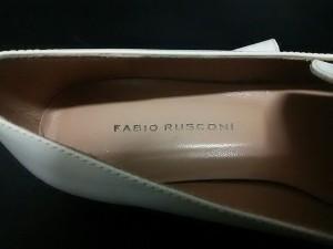 ファビオルスコーニ FABIO RUSCONI フラットシューズ 36 レディース 白 レザー【中古】