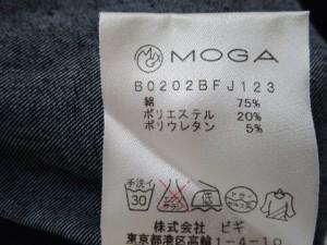 モガ MOGA スカートセットアップ サイズ2 M レディース ダークネイビー デニム【中古】
