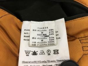 デアブリッジ Darebridge コート サイズ46 XL メンズ カーキ 冬物【中古】