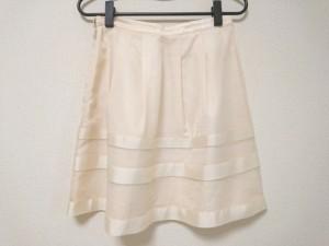 アプワイザーリッシェ Apuweiser-riche スカート サイズ2 M レディース 美品 ベージュ×アイボリー【中古】