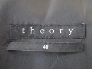 セオリー theory ジャケット サイズ40 M メンズ ダークグレー 肩パッド【中古】