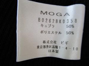 モガ MOGA ジャケット サイズ2 M レディース 黒 ニット【中古】