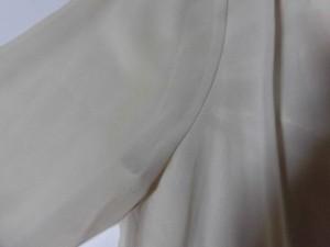 ムルーア MURUA チュニック サイズ99(F) レディース ベージュ シャツワンピ/フェイクパール/袖シースルー【中古】