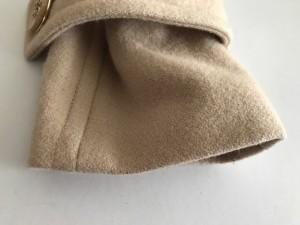 クリアインプレッション CLEAR IMPRESSION コート サイズ2 M レディース 美品 ベージュ 冬物/ショート丈【中古】