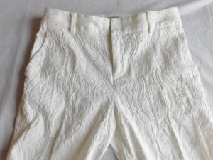 ボールジー BALLSEY パンツ サイズ34 S レディース 美品 白【中古】
