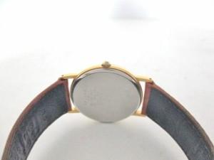 セイコー SEIKO 腕時計 5Y30-7000 ボーイズ 社外革ベルト 白【中古】