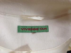 ヴィヴィアンタム VIVIENNE TAM コート サイズ0 XS レディース 美品 アイボリー 冬物【中古】
