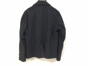 ティーケータケオキクチ TK (TAKEOKIKUCHI) Pコート サイズ3 L メンズ ダークグレー 冬物【中古】