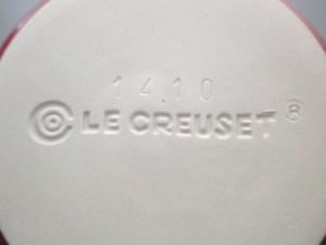 ルクルーゼ LE CREUSET 食器 新品同様 レッド ココット 鋳物(ホーロー)【中古】