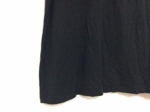 ジェラートピケ gelato pique 半袖Tシャツ サイズF レディース 黒×白【中古】