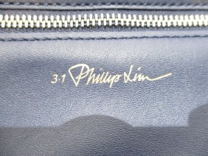 スリーワンフィリップリム 3.1 Phillip lim ショルダーバッグ 31 Hour Bag AC00-0306NPO ネイビー レザー【中古】