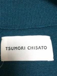 ツモリチサト TSUMORI CHISATO カーディガン レディース ダークグリーン【中古】