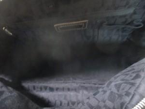 フルラ FURLA ハンドバッグ レディース 黒 レザー【中古】
