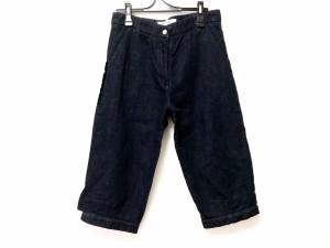 マルニ MARNI パンツ サイズ26 S レディース ネイビー×黒【中古】