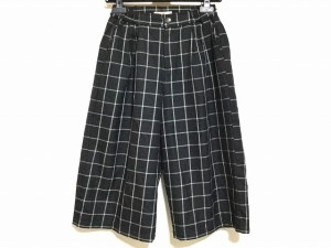 ビームスハート BEAMSHEART パンツ サイズ0 XS レディース 黒×白 チェック柄【中古】