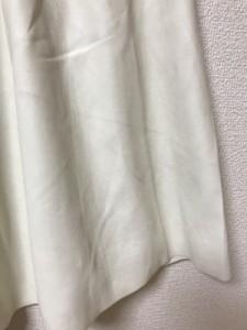 レリアン Leilian スカート サイズ9 M レディース アイボリー NIMIKA/フェイクレザー【中古】