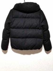 スピック&スパン Spick&Span ダウンジャケット レディース 黒 冬物【中古】
