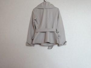 ナラカミーチェ NARACAMICIE コート サイズ2 M レディース ベージュ 肩パッド/ショート丈【中古】