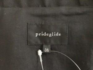 プライドグライド Prideglide ジャケット レディース 黒 ショート丈【中古】