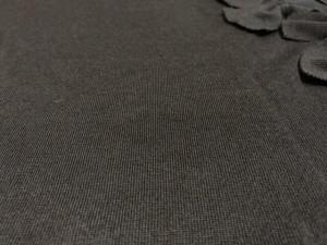 カオン kaon 長袖セーター サイズF レディース 美品 黒 リボン【中古】