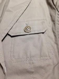ニューヨーカー NEW YORKER ジャケット サイズ11AR M レディース カーキ【中古】