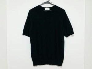 ユナイテッドアローズ UNITED ARROWS 半袖セーター メンズ 黒【中古】