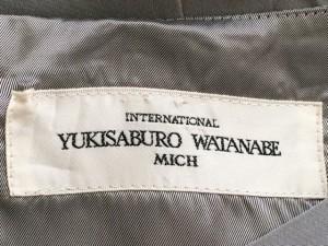 ユキサブロウワタナベ YUKISABURO WATANABE/渡辺雪三郎 ワンピース サイズ40 M レディース 美品 グレー【中古】
