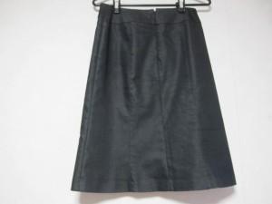 インディビ INDIVI スカート サイズ38 M レディース 美品 黒【中古】