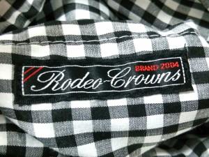 ロデオクラウンズ RODEOCROWNS ハンドバッグ レディース ライトブラウン×黒×マルチ 化学繊維×ウール【中古】
