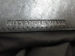 アレキサンダーワン ALEXANDER WANG リュックサック マルチバックパック 黒 3way レザー【中古】