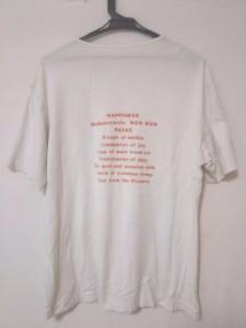 パパス Papas 半袖Tシャツ メンズ 白×レッド×マルチ【中古】