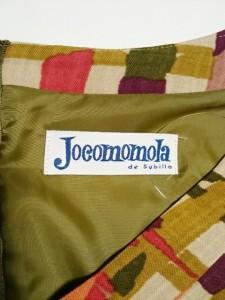 ホコモモラ JOCOMOMOLA ワンピース レディース ベージュ×レッド×マルチ【中古】