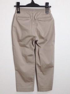 ダブルスタンダードクロージング DOUBLE STANDARD CLOTHING パンツ サイズS レディース ベージュ ユニクロ【中古】