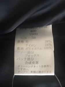 デビュードフィオレ Debut de Fiore コート サイズ38 M レディース 黒 冬物【中古】