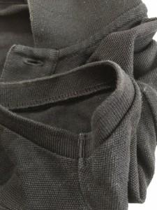 ラルフローレン RalphLauren 半袖ポロシャツ サイズL L レディース ビッグポニー 黒×ゴールド【中古】