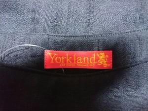 ヨークランド YORKLAND スカート サイズ7AR S レディース 美品 黒 チェック柄【中古】