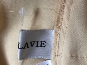 セラヴィ CEST LAVIE スカートセットアップ サイズ9 M レディース アイボリー フリル【中古】