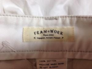 フレームワーク Framework パンツ サイズ36 S レディース 白【中古】
