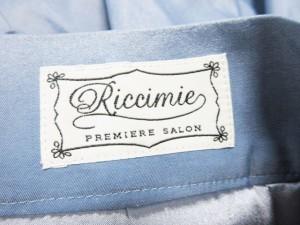 リッチミーニューヨーク Riccimie NEW YORK スカート サイズS レディース ネイビー×白 レース【中古】