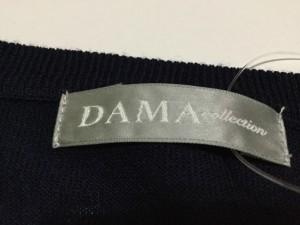 ダーマコレクション DAMAcollection カーディガン レディース 美品 ダークネイビー【中古】