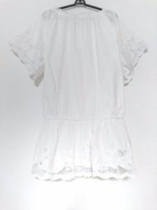 クロス&クロス Cloth&Cross ワンピース レディース アイボリー【中古】