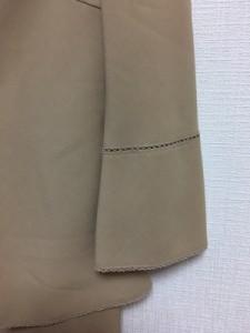 ノーベスパジオ NOVESPAZIO ワンピーススーツ サイズ38 M レディース ベージュ 刺繍【中古】