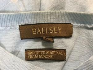 ボールジー BALLSEY カーディガン サイズ38 M レディース 美品 ライトブルー【中古】