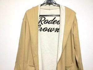 ロデオクラウンズ RCWB RODEOCROWNS WIDE BOWL コート レディース ライトブラウン リバーシブル/春・秋物【中古】