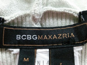 ビーシービージーマックスアズリア BCBGMAXAZRIA カーディガン サイズM レディース ライトグレー【中古】