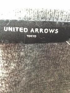 ユナイテッドアローズ UNITED ARROWS コート レディース グレー ニット/ 冬物【中古】