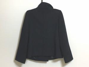 ジャスグリッティー JUSGLITTY コート サイズ2 M レディース 黒 ショート丈/冬物【中古】
